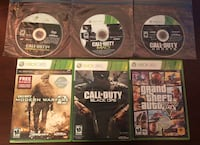 CALL OF DUTY + GTA V (XBOX 360) BUNDLE (FREE 2 DAY XBOX LIVE TRIAL) Purcellville, 20132