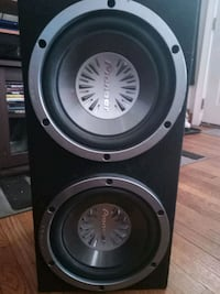 """2 Pioneer 10"""" subs in sealed box like new used for a month Lincoln Park, 48146"""