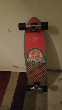 red and green 1965 Kryptonics cruiser board Austin, 78754