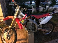 white and red motocross dirt bike Tampa, 33615