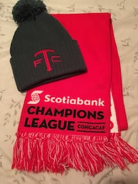 Tfc hat and scarf