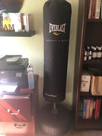 Everlast boxing bag (like new) Yukon