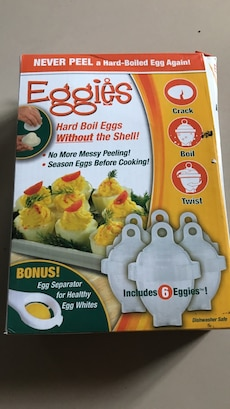Eggies Hard Boil Eggs Without the Shell