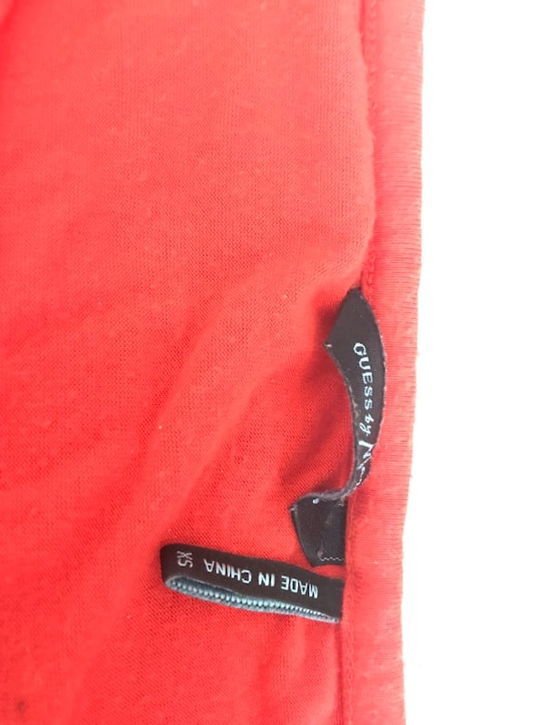 Guess by Marciano Blood Orange Summer Cotton Stretch Dress 7f14be13-6db5-4500-a14c-6d5557dd5d07