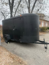 2000 enclosed trailer 6X12