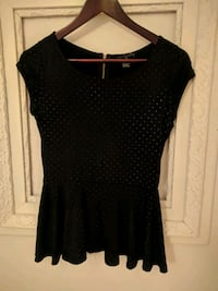 Black peplum blouse Essen