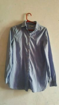 camicia a maniche lunghe button-up nera Milano, 20142