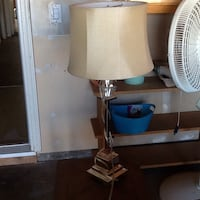 white and brown table lamp Lincoln, 95648