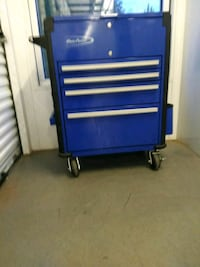 blue and gray metal tool cabinet Midlothian, 23112