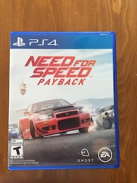 Need for speed payback ps4 New Westminster, V3M 4C8
