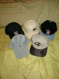 Variety fitted hats see details for sizes