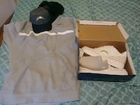 All brand new chargers hat hoodie and shoes Independence, 64055