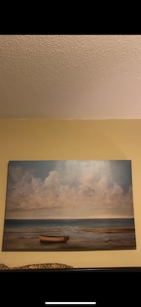 Sea and beach picture. Very good conditions. Looks new. Worth 150. Dimensions: 90 x 60 cm. Ottawa, K2H