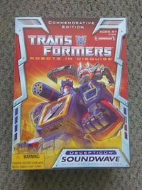 2012 TRU SOUNDWAVE COMMEMORATIVE EDITION FIGURE Pickering, L1V 3V7