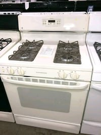 GE BISQUE NATURAL GAS STOVE $209 #31458 Hempstead, 11550