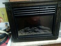 Portable fireplace heating unit