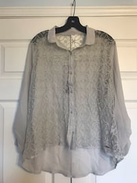 Abercrombie and Fitch Lace Blouse (Size Large) Toronto