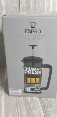 BRAND NEW NEVER USED. Espro Coffee Press P5-32oz, Glass and Stainless Steel   Toronto