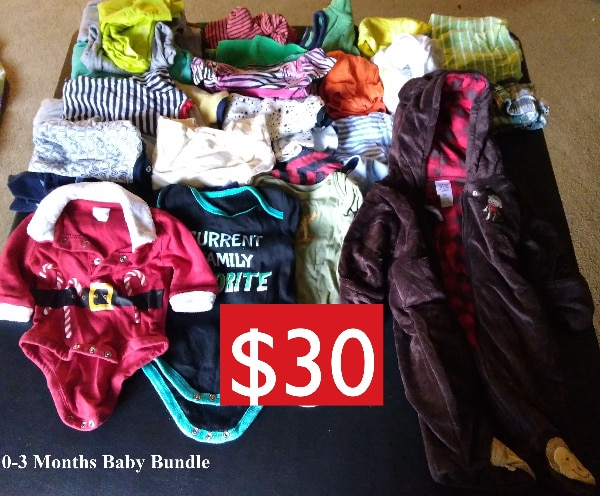 b6201e532 Baby Boy Clothes Bundle (Bundle Sell Only!!) (0-3 Months)-(3-6 Months)