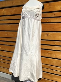 Wedding dress size 16/18