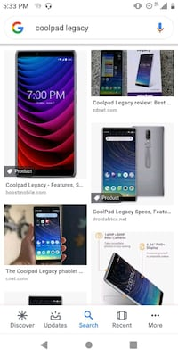 6.4HD coolpad legacy w/ unlimited service Louisville, 40208