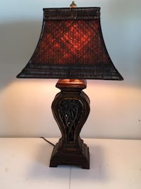 "Home Décor: Tropical Lamp 30.5"" Tall  Lansdowne"