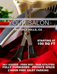 Small Studio Salon in Beverly Hills Beverly Hills