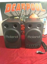 Roland MA-8BK Stereo Micro Monitor System  Gaithersburg, 20877