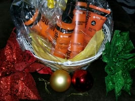 Gift basket hair product
