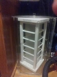 white wooden framed glass display cabinet Redford Charter Township, 48240