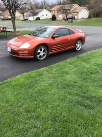 Orange 2001 Mitsubishi Eclipse Winchester