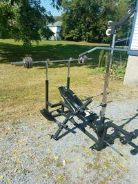 Bench only, no weights or bar