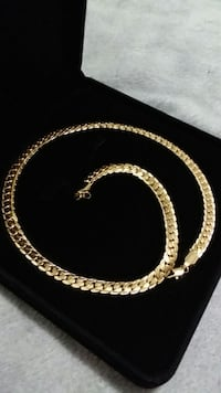 18K Gold PVD Miami Cuban Chain