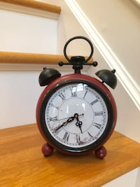 Retro Rustic Tabletop Clock