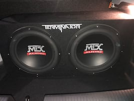12 inch MTX subs