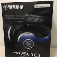 Yamaha pro 500 racing blue headphone Silver Spring, 20910