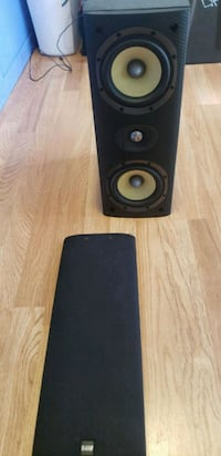B&w lcr60 s3 speaker slightly used  San Jose, 95123