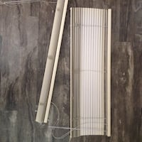"1"" Beige PVC Window Blinds"