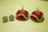 Silk Thread Jhumkas Gothenburg, 413 19