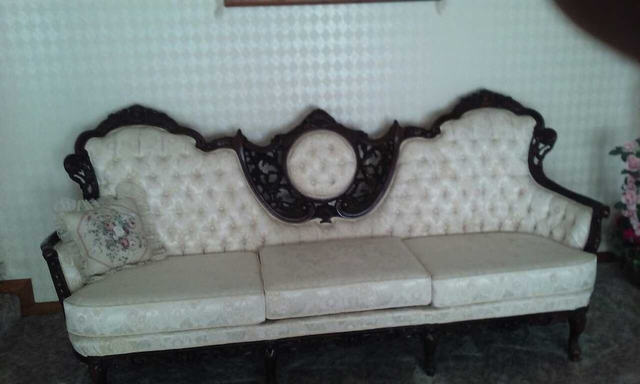 Bon French Provincial Couch Chair And Love Seat