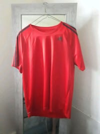 red crew-neck t-shirt Edmonton, T5W 1E1
