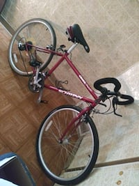 red and black hardtail bicycle Whiteland, 46184
