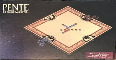 Pente - Classic Game Of Skill, Vintage Board Game (1982) No. 201