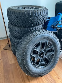 2017 Jeep Willy tires 6250 miles Charleston, 29412