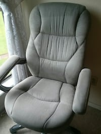 grey rolling armchair Montgomery, 77356