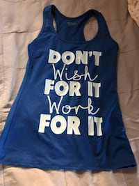 blue and white tank top San Diego, 92103