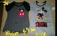 New mickey mouse jr girls shirts