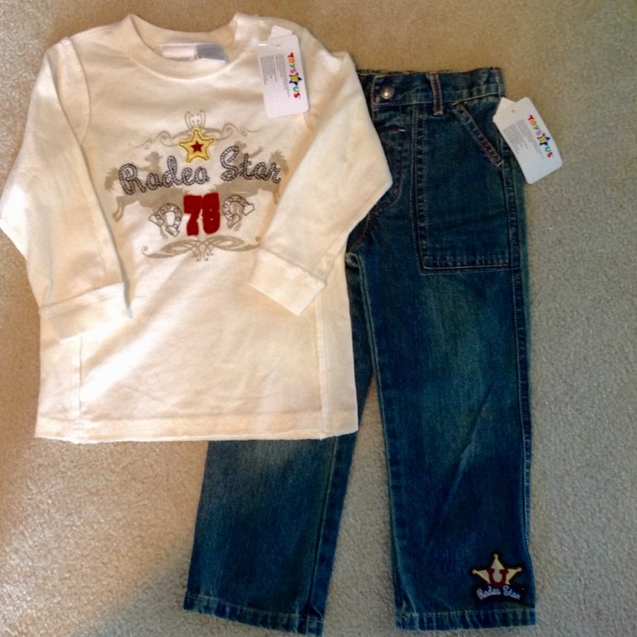 New! Shirt & Jeans - Size 3T