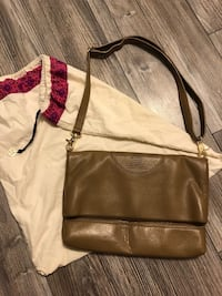 brown leather crossbody bag with tassel Toronto, M6M 2E5