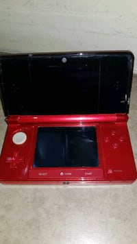 NINTENDO 3DS RED WITH ADAPTOR @ BUY AND SELL KINGS (AJAX)